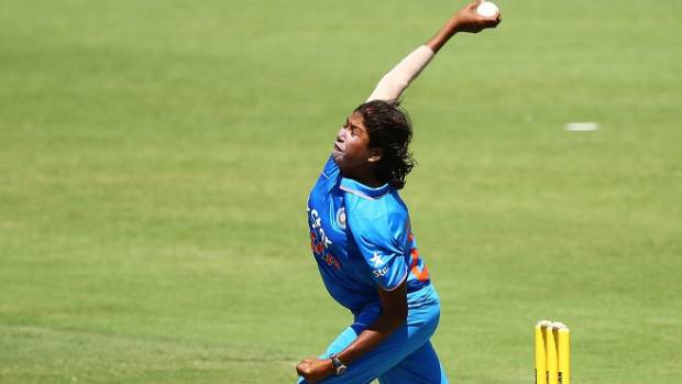 Jhulan Goswami honored for her achievement in women's cricket