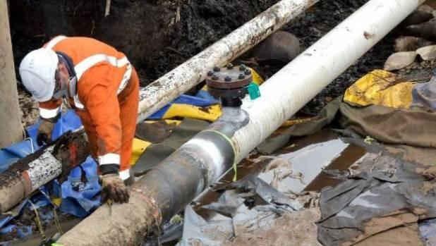 Pipeline leak cost Refining NZ $14.3m
