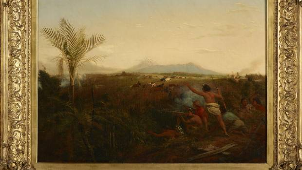 Te Papa: Controversial painting is a 'skewed version of ...