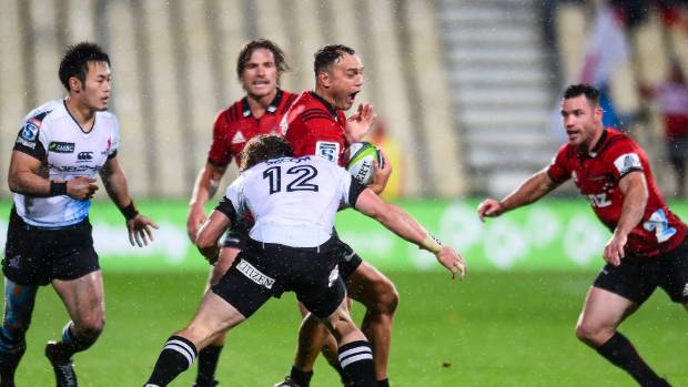 Israel Dagg played 50 minutes on the right wing for the Crusaders before being replaced in the 33-11 win over the ...