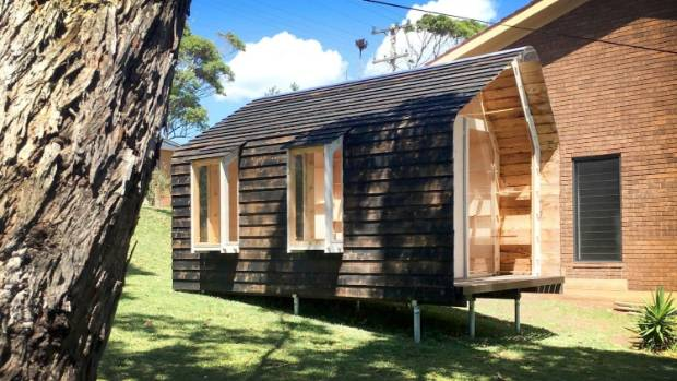 Cabin with no nails, no glue