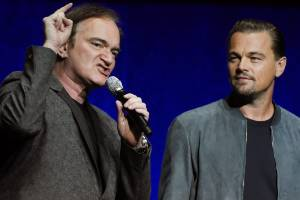 No-one expected to see Quentin Tarantino and Leonardo DiCaprio at CinemaCon.
