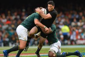 Wing Nehe Milner-Skudder hasn't played since suffering a shoulder injury playing for the All Blacks in Cape Town.