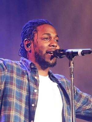 BYRON BAY, AUSTRALIA - MARCH 24:  Kendrick Lamar performs live for fans at the 2016 Byron Bay Bluesfest on March 24, ...