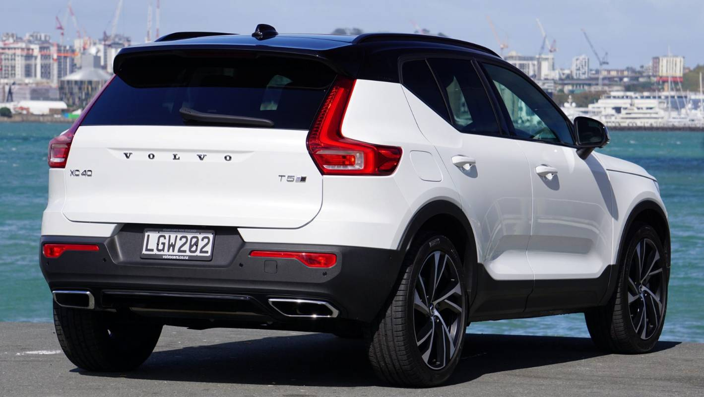 Unboxing Volvo's new XC40 T5 baby SUV | Stuff co nz
