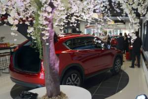There are more Mazda Connect stores on the way. Next one opens in Wellington, in October this year.