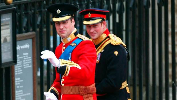 Prince William To Be Prince Harry's Best Man On May 19