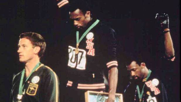 Aussie sprinter Peter Norman honoured for human rights stand
