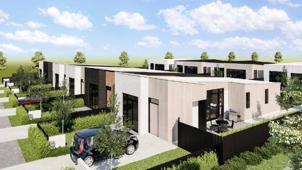 An artist's impression of Takanin's McLennan development, a 600-house subdivision being led by Housing New Zealand and ...