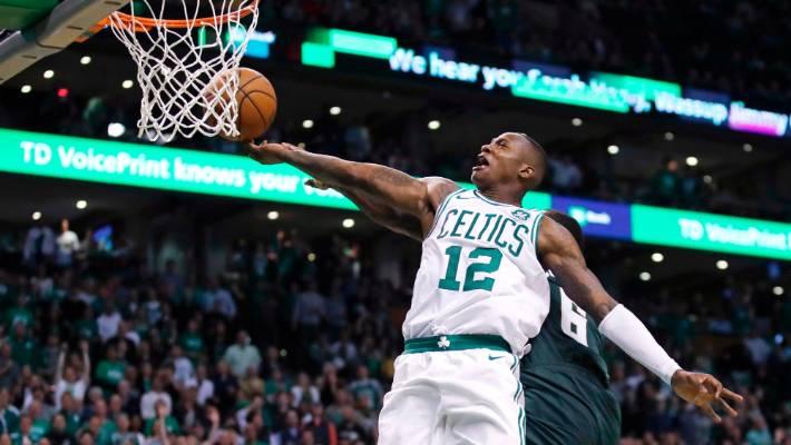 380e7adba4e9 Boston Celtics beat Milwaukee Bucks to advance to NBA playoff semifinals