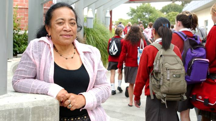 """NZSTA president Lorraine Kerr says some schools are """"selective"""" about where they draw zone boundaries."""