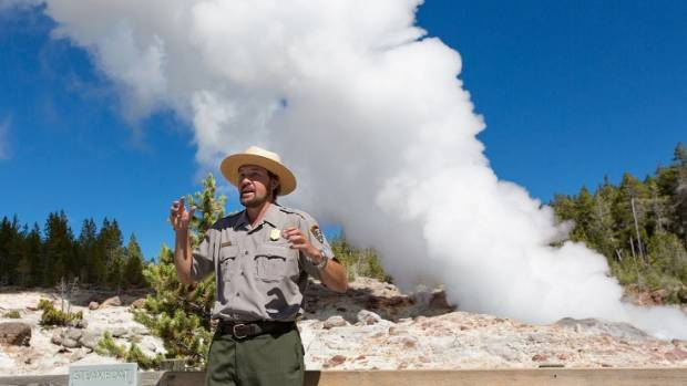 World's tallest geyser erupts in Yellowstone for third time this spring