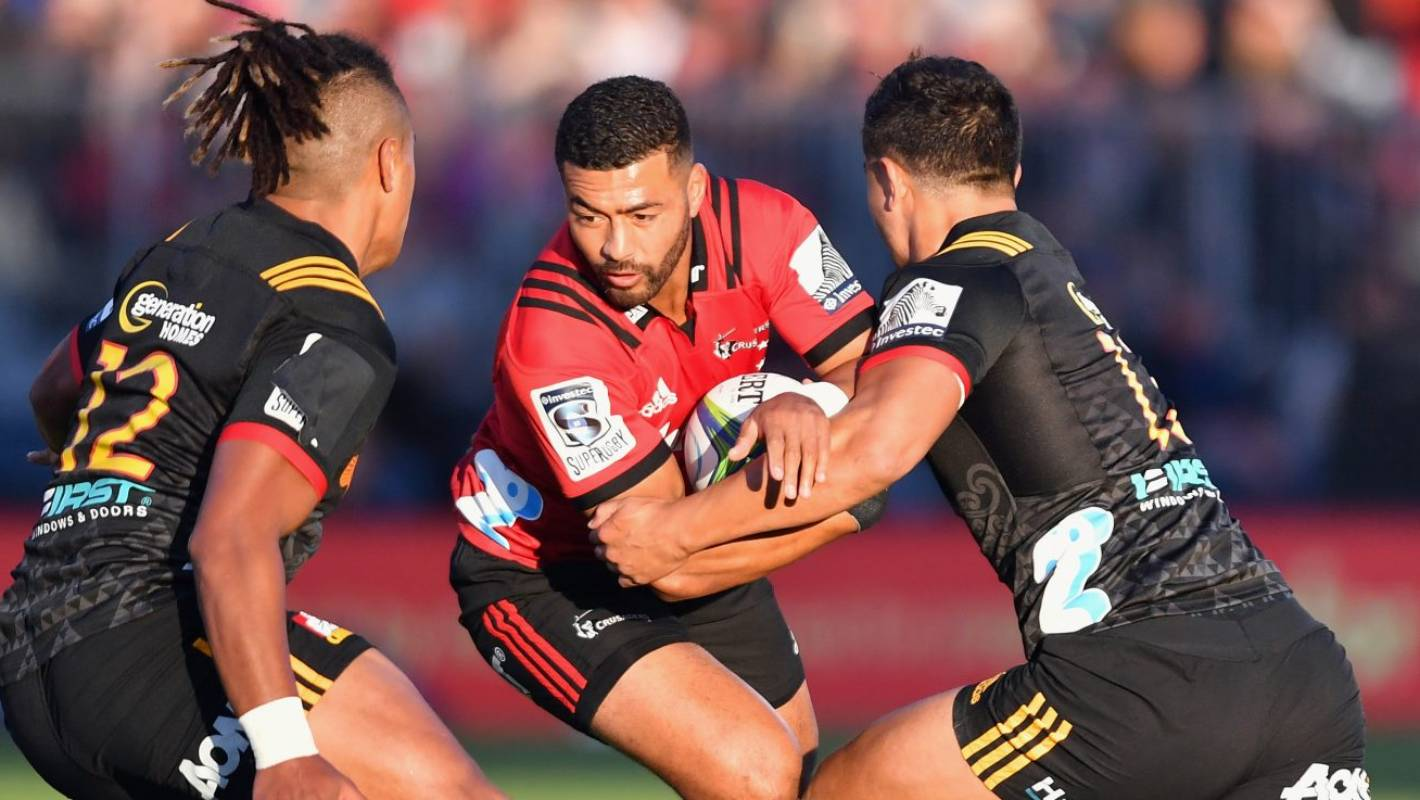 Crusaders first-five Richie Mo'unga: 'I sort of found ...