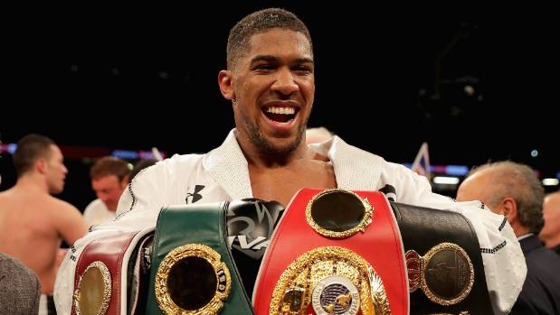 Anthony Joshua confirms heavyweight title defence against Alexander Povetkin