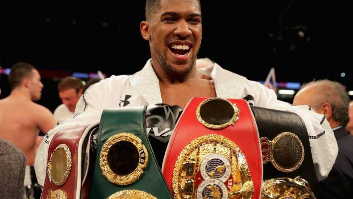 Joshua to defend heavyweight titles against Ruiz Jr in NY