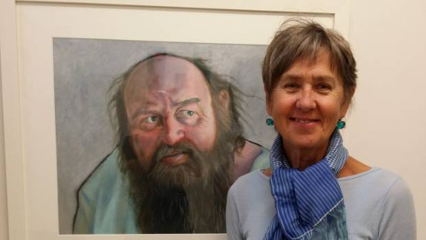 "Ro Cambridge can smile after finally visiting her dentist, and her ""empathetic"" Lewis Stanton portrait."