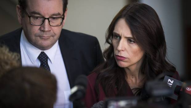 Jacinda Ardern has called out National for spreading