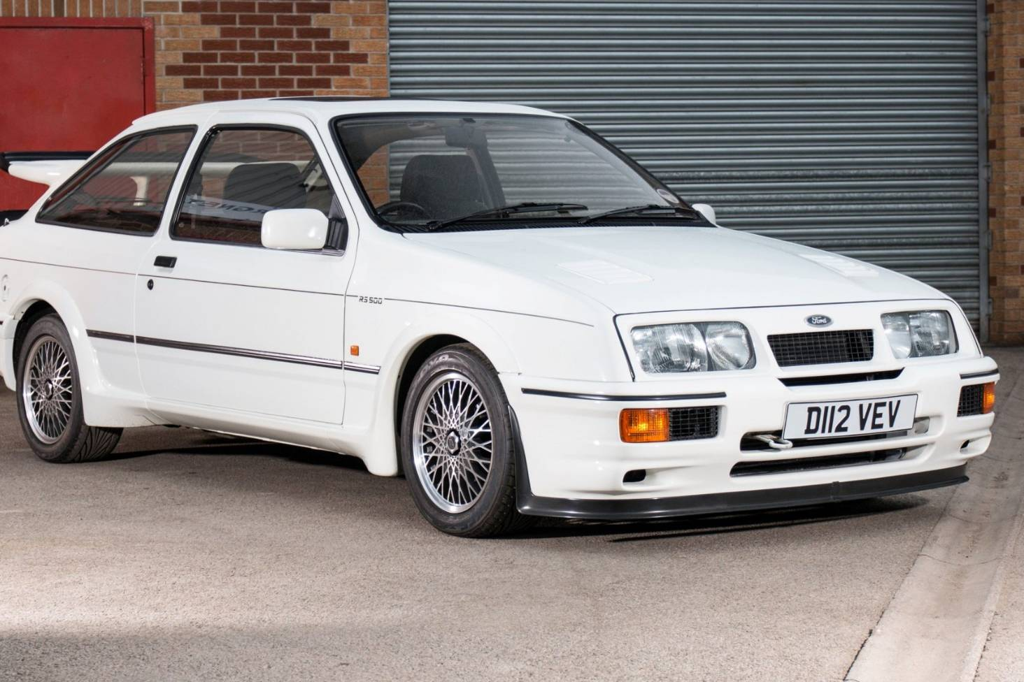 The first of the furious ford sierra cosworth rs500 1 heads to auction stuff co nz
