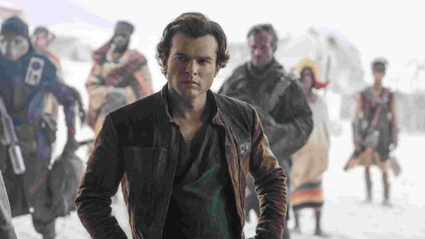 Alden Ehrenreich is receiving plenty of plaudits for his performance in Solo A Star Wars Story