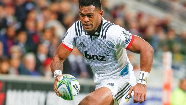 Seta Tamanivalu opened the Crusaders' account with a try in the right-hand corner early in the match against the Rebels ...