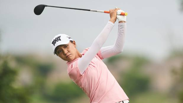 Aditi Ashok shares lead at weather-hit LPGA event