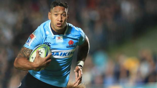 Israel Folau Is Back On His Homophobic Bullshit