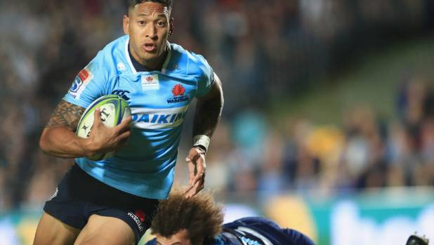 Wallabies star Israel Folau courts more controversy by sharing video on homosexuality