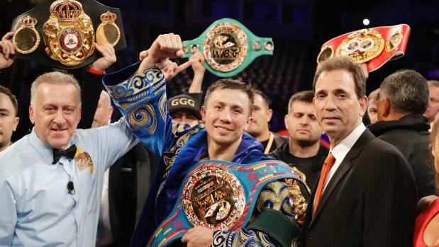 Retaining titles will put Gennady Golovkin on par with this legend
