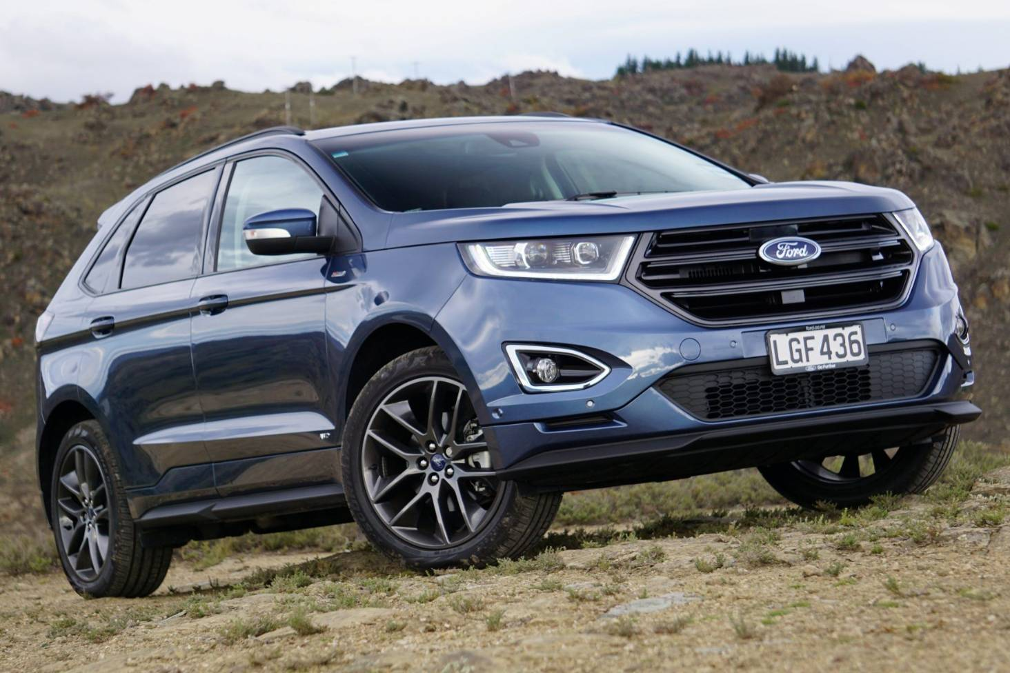 Ford Nz Couldnt Face Waiting Any Longer For Endura St Line Suv Stuff Co Nz