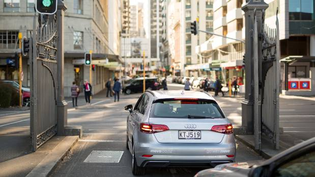 "Wellington 'home zone"" for drop-offs is quite restricted, but users are free to drive anywhere in between of course."