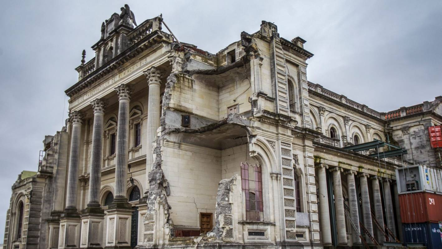 New catholic bishop reconsiders Christchurch cathedral