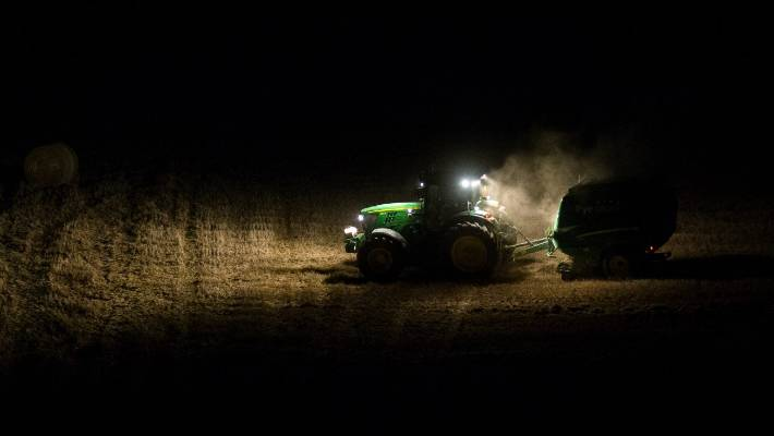 Waikato tractor driver clocked almost 200 hours in the two weeks