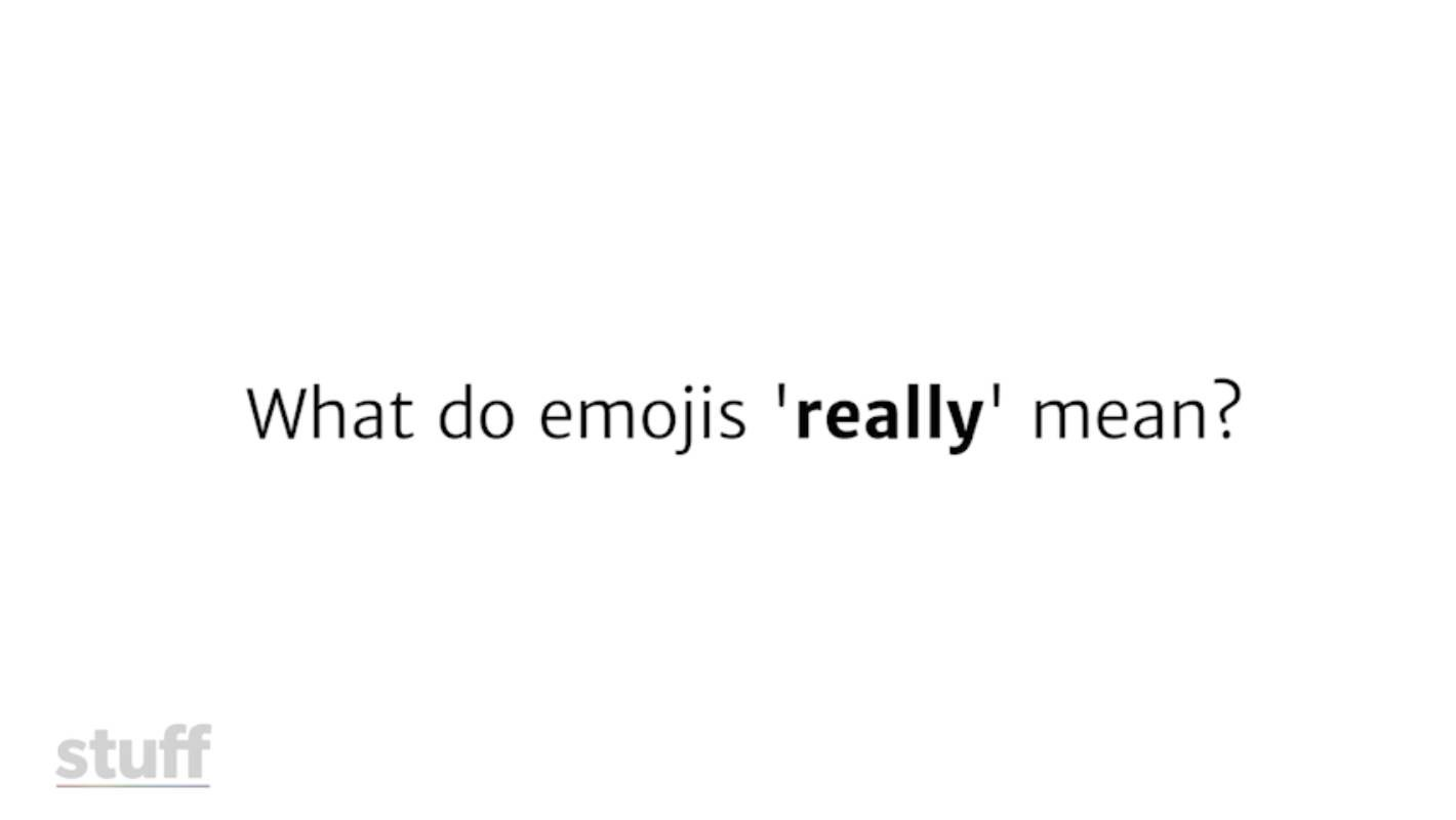Eggplants, tacos and sweat droplets; what emojis \'actually\' mean ...