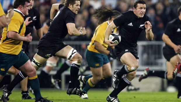 The All Blacks haven't had a playmaker at No 12 since Aaron Mauger.