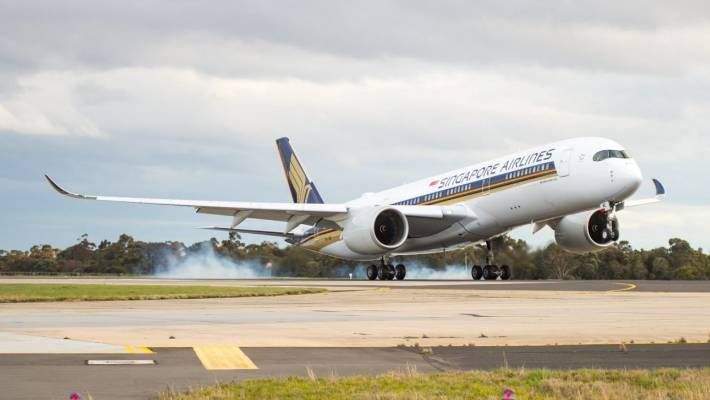 Singapore Airlines new Airbus service to begin out of Christchurch