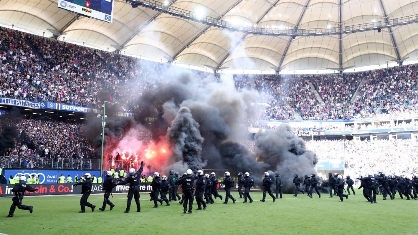 Hamburger SV: Fans Revolt After Hamburger SV Relegated From Germany's