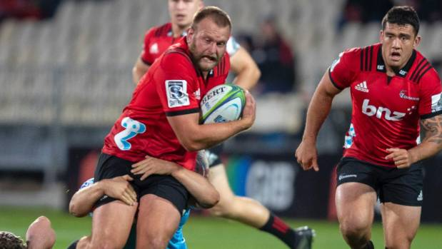 Crusaders prop cited for alleged foul play