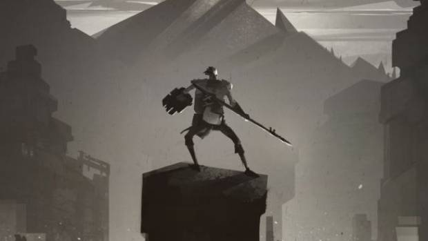 Ashen has a sparse and minimalist art style, creating a haunting atmosphere.