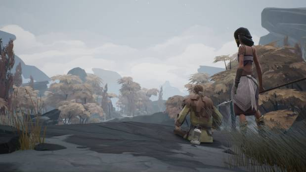 Ashen puts an emphasis on co-operative multiplayer gaming, allowing friends to team up to explore its world together.
