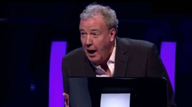 Jeremy Clarkson Makes Embarrassingly Huge Mistake While Hosting 'Millionaire'