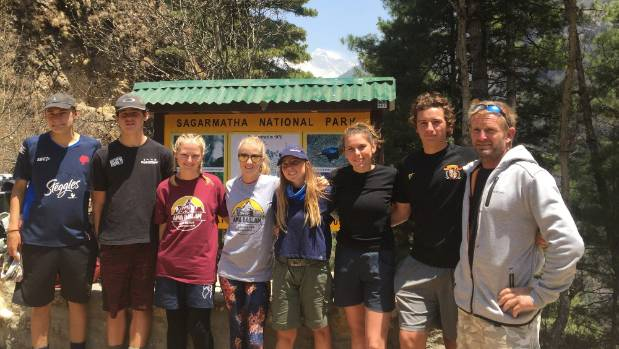 Mercury Bay students trade in beach to trek around Nepal