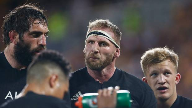 All Blacks captain Kieran Read, centre, hasn't played any rugby since leading his country to a 22-17 win over the ...