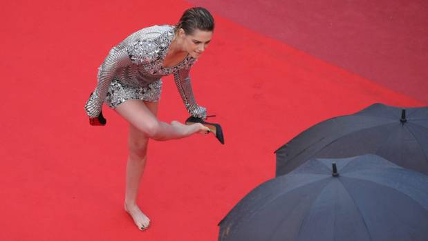 Kristen Stewart made a bold statement by removing her shoes on the Cannes red carpet. But was it intentional