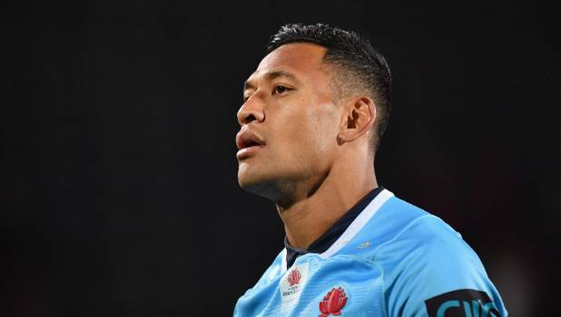 Children who don't agree with Israel Folau's anti-gay comments should look for another idol according to Michael Cheika