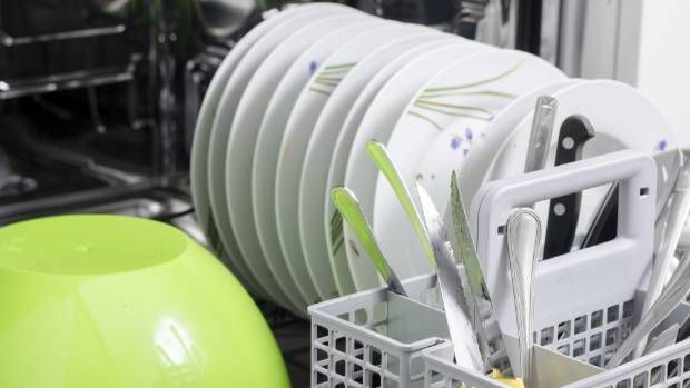 Stacking your dishwasher correctly really is an art - and an important safety measure.