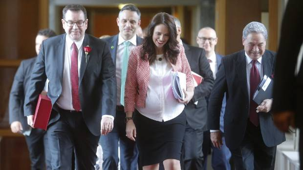 Jacinda Ardern in hospital to give birth