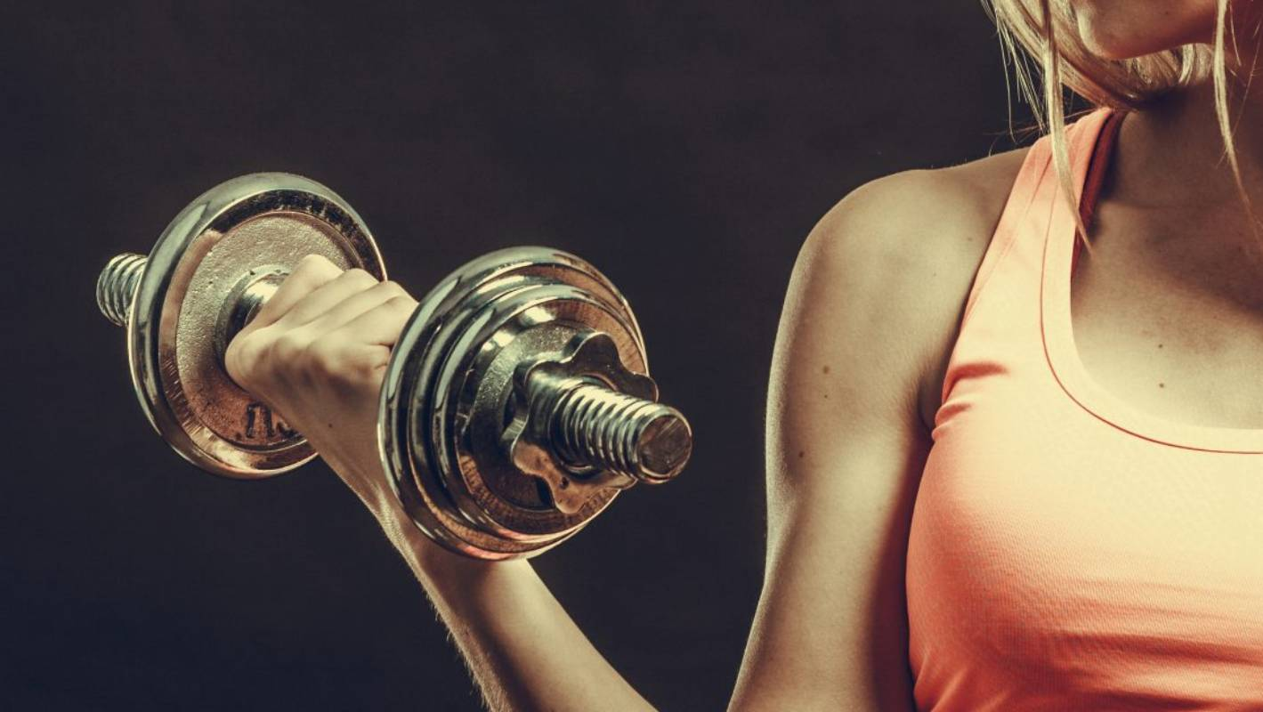 'I fell in love with lifting weights - it saved my life'