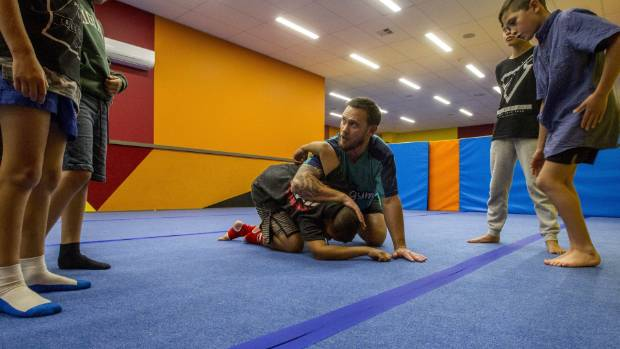 Children as young as 5 are taking up mixed martial arts classes in Christchurch.