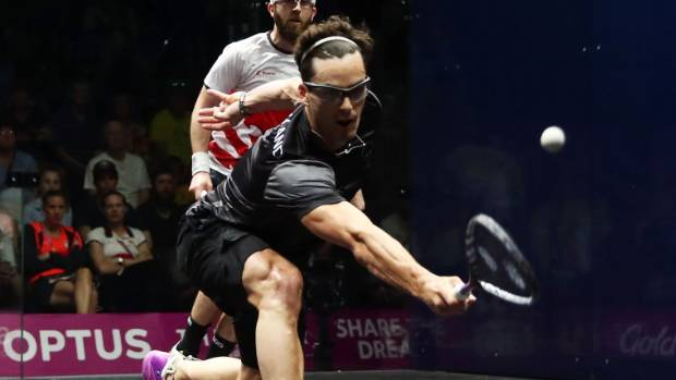 Paul Coll will take on current world champion Mohamed ElShorbagy in the quarterfinals of the British Open.