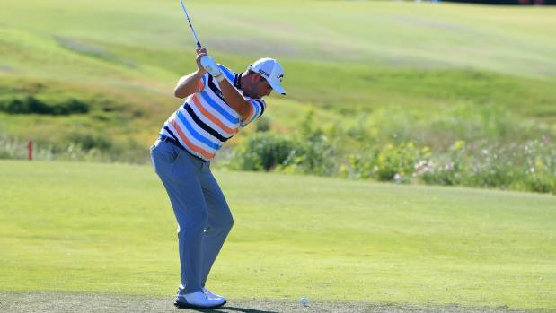 Leishman leads Wise by one at low-scoring Byron Nelson